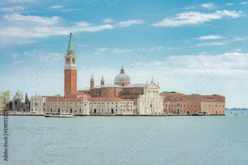 Lagune von Venedig mit San Giorgio Maggiore-Kirche