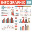Infographic Elements. Vector illustration. Set 09.