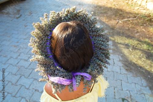 lavender crown