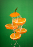 Fresh Orange Slices