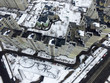 Kiev at winter time (drone image). - 248278020