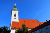 The St. Martin's Cathedral in Bratislava, Slovakia