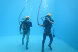 diver and diver - 248290228