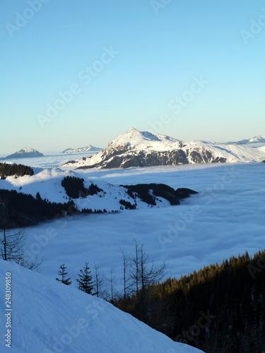 Mountains, snow, alps, panorama © Christopher