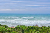 View of the beach of Sabaudia - Latina - Italy