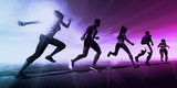 Sports Running Concept