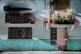 Hausfassade in Havanna Kuba,