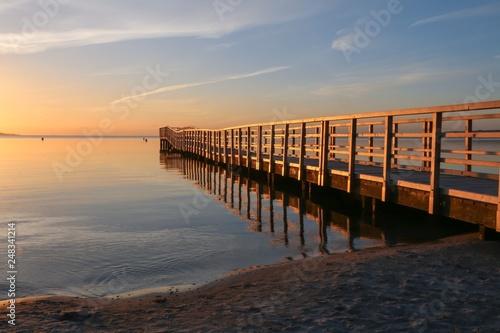 wooden pier seaside view © Lars Gieger