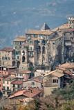 Veduta di Olevano Romano - Roma - Lazio - Italia - 248348076