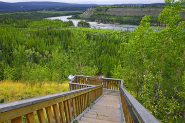 Yukon - river rapids