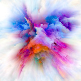 Depth of Color Splash Explosion