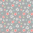Watercolor seamless pattern with flowers, leaves. Texture for wallpaper, packaging, scrapbooking, textiles, fabrics, wedding design. - 248398657