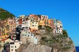 Manarola buildings in Cinque Terre