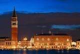 Venice skyline at night