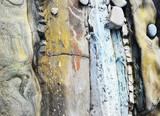 Abstract seashore stone background