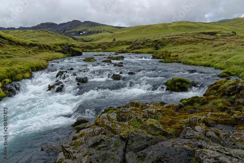 Landschaft entlang der F208, Island