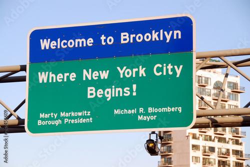 Foto Murales Welcome to Brooklyn