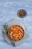 Pasta with tomato sauce - 248466234