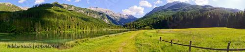 Lake Jägersee, Kleinartal, Salzburg, Austria - 248467476