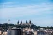Vue sur les toits de Barcelone, vue d'en haut - 248480435