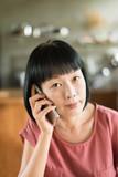 woman talking on smartphone - 248482078