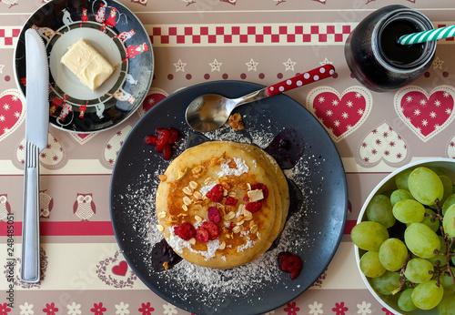 breakfast top shot - 248485051