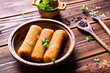 Homemade fried croquettes. - 248492087