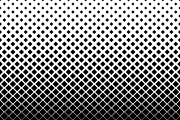 Haftone diamond pattern background. Vector