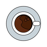 coffee mug cartoon