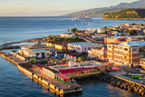 Dominica cruise port terminal.
