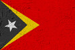 Quadro East Timor painted flag