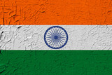 India painted flag