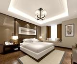 3d render of cozy bedroom - 248562213