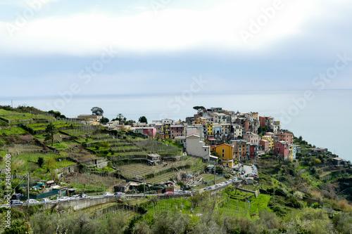 fototapeta na ścianę riomaggiore cinque terre italy, in cinque terre, Liguria, Italy