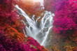 PiTuGro waterfall is often called the Heart shaped waterfalls Umphang,Thailand - 248576045