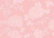 pink gradient Asian flower textured background - 248592894