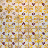 vintage ceramic tiles background, perfect colorful pattern - 248593291
