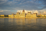Budapest city skyline with Parliament Building and Danube River in Hungary - 248600630
