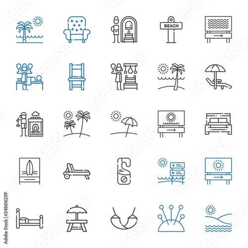 relax icons set - 248616209