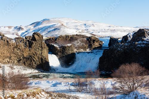 Hjalparfoss Wasserfall in Süd-Island - 248618055