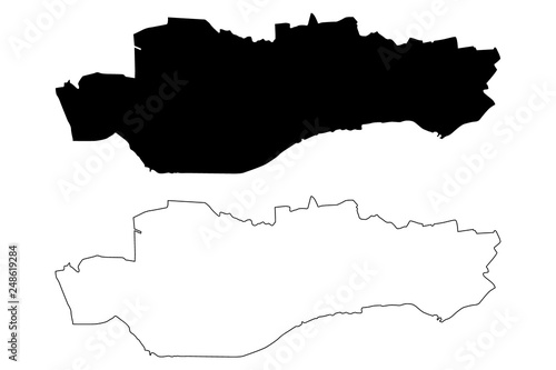 Dundee (United Kingdom, Scotland, Local government in Scotland) map ...
