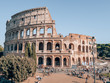 Collosseum in Rome, Italy