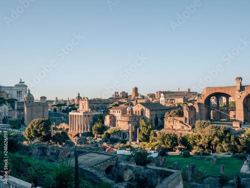 Forum Romanum in Rome, italy - 248626059