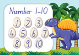Count math number template