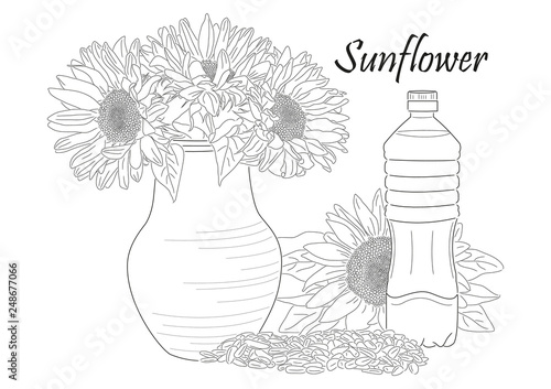 sunflower still life © Alena