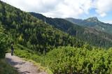 Tatry, koncowy odcinek szlaku z Doliny Jaworzynki na Przełęcz Między Kopami