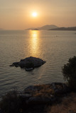 Sunset at Bafa Lake in Turkey.