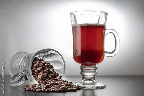 Kaffee Cup mit Bohnen © scaleworker