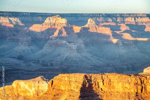 Grand Canyon at sunset, Arizona © jovannig