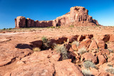 Amazing landscape of Monument Valley on a sunny summer afternoon - 248696691